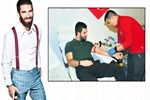 Yeni damat Arda'dan kan bağışı