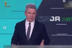 TRT Spor spikerinin gafı ortalığı karıştırdı!