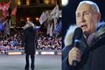 Vladimir Putin'den zafer konuşması!