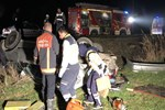 Ankara'da feci kaza!