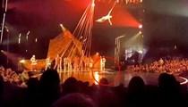 Dans gösterisinde feci ölüm!