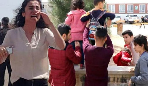 Şanlıurfa'daki okulda silahlar patladı!..