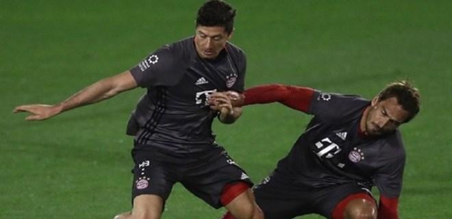 Bayern Münih antrenmanında gerginlik!