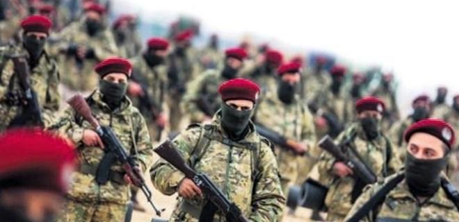 Kürt Şahinleri Afrin yolunda!