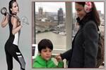 Ebru Şallı soluğu Londra'da aldı