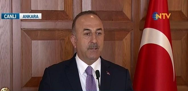 Mevlüt Çavuşoğlu'dan Menbiç açıklaması