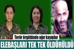 PKK ve YPJ'nin elebaşları tek tek öldürüldü!