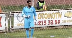 Volkan Demirel, 40 metreden gol yedi!