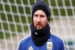 Lionel Messi Real Madrid'de!