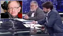Celal Şengör'den Stephen Hawking'e hakaret