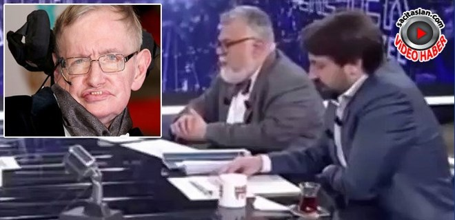 Celal Şengör'den Stephen Hawking'e hakaret!