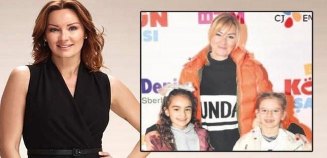 Pınar Altuğ kızıyla sinema keyfi yaptı