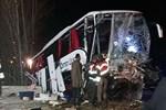 Çorum'da yolcu otobüsü kazası