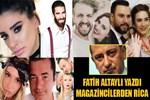 Fatih Altaylı magazincilerden rica etti