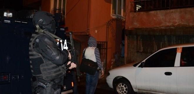 İstanbul'da eylem hazırlığındaki teröristlere operasyon