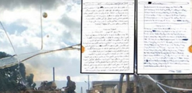 Zeytin Dalı Harekatı'nda PYD'li teröristin itiraf günlüğü ele geçirildi