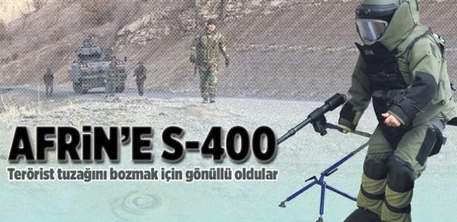 Afrin'e S-400!..