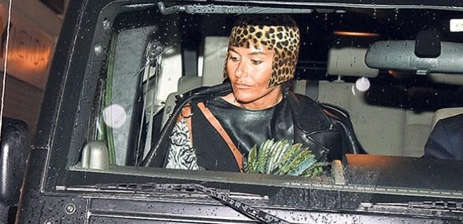 Eda Taşpınar'ın leopar kafası!