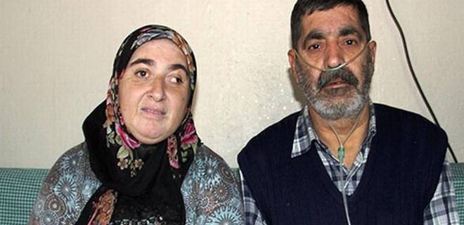 İki göz odalı evde engelli anne babanın yaşam mücadelesi