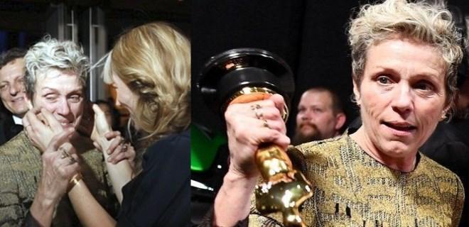 'En iyi kadın oyuncu' Oscar'ını çaldırdı!