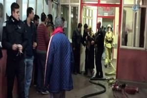 İstanbul Çapa Tıp fakültesi Acil Servisi'nde yangın!