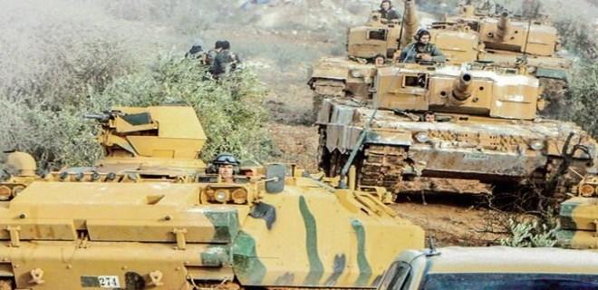 Afrin-Cinderes arasındaki terör hattı koparıldı!