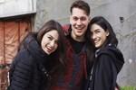 Çağatay Ulusoy'un Netflix dizisinin setinden ilk kareler!