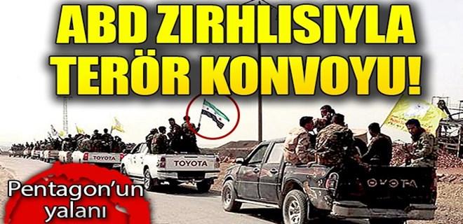 ABD zırhlısıyla Afrin'e gittiler