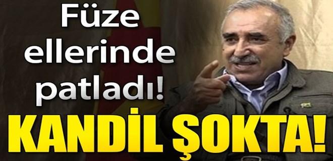 PKK'nın 100 milyonluk füze planına darbe