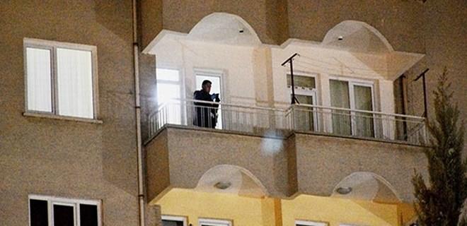 Genç kız 7. kattan atladı!