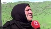 Erbilli teyzeden Barzani'nin muhabirine tokat gibi cevap