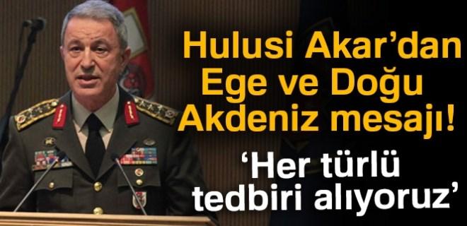 Genelkurmay Başkanı Akar: