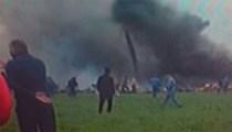 Cezayir'de 100'den fazla kişiyi taşıyan uçak düştü!