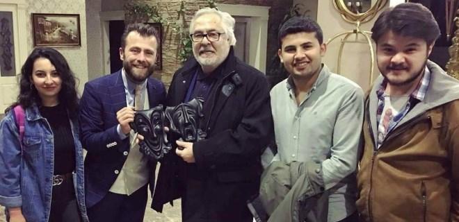 Rutkay Aziz'e Eskişehir'de yoğun ilgi