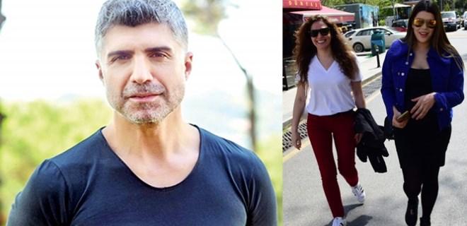 Özge Borak, Özcan'ın eşini hiç yalnız bırakmıyor