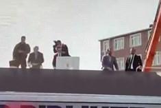 Erdoğan'ın başına gelen görünmez kaza