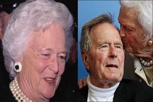 Barbara Bush hayatını kaybetti!