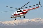 İran'da helikopter düştü!