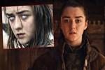 Game of Thrones'un Arya Stark'ı fena yakalandı!