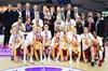 Galatasaray Kadın Basketbol Takımı, FIBA Avrupa Kupası finali rövanşında İtalyan ekibi Reyer'e...