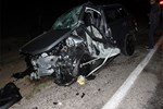 Konya'da tüyler ürperten trafik kazası!