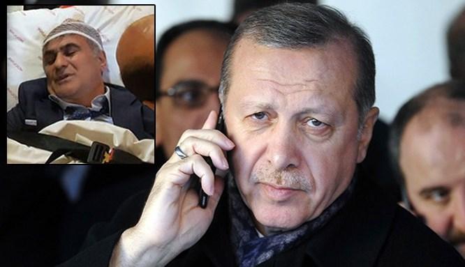 Cumhurbaşkanı Erdoğan, Şenol Güneş'i aradı