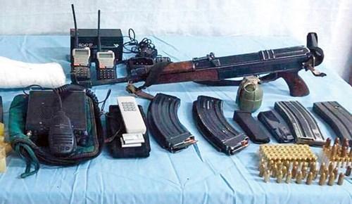 Şehit edilen güvenlik korucusunun silahı da bulundu