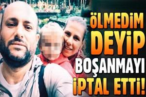 İş adamı Murat Kipritoğlu 'gaip değilim' dedi, boşanma iptal oldu!