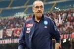 Napoli Teknik Direktörü Sarri'den Juventus taraftarına olay hareket