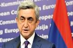Ermenistan'da Başbakan Sarkisyan istifa etti!