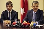 Abdullah Gül ve Ahmet Davutoğlu dün görüştü