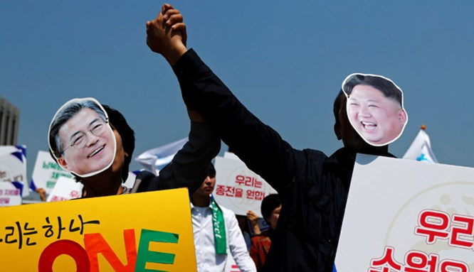 Kuzey ve Güney Kore liderlerinin tarihi randevusu!