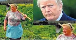 Trump'a ikizi kadar benziyor