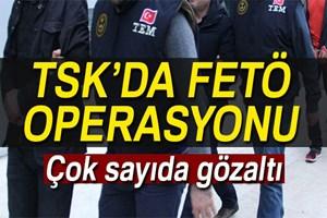TSK yapılanmasına operasyon: 24 gözaltı